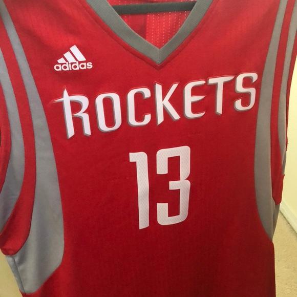 new style e0c6a f1ae8 Adidas James Harden Houston Rockets Jersey